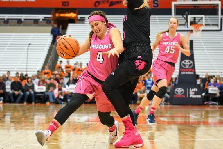 Women's basketball versus Louisville