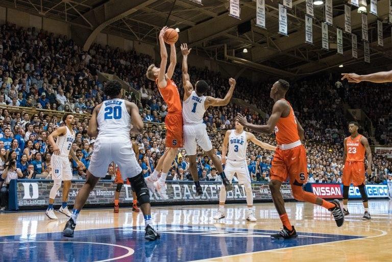 Syracuse versus Duke basketball