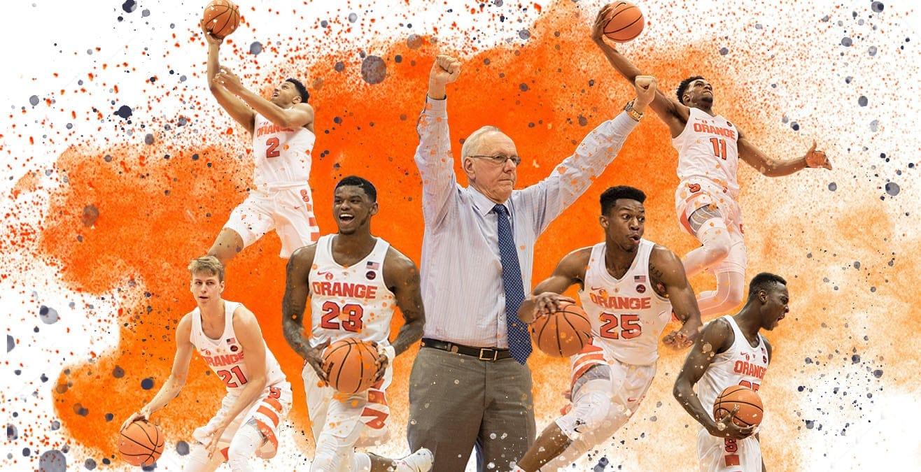 SU Men's Basketball: 2017-2018 team photo