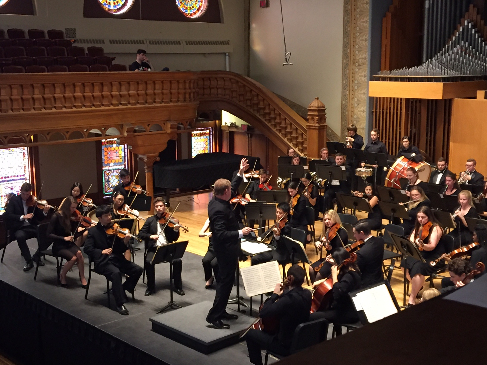 Tapia conducts symphony