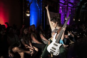 Ish Guitars are featured at the 7th annual Syracuse Style Runway Fashion Show at Landmark Theatre.