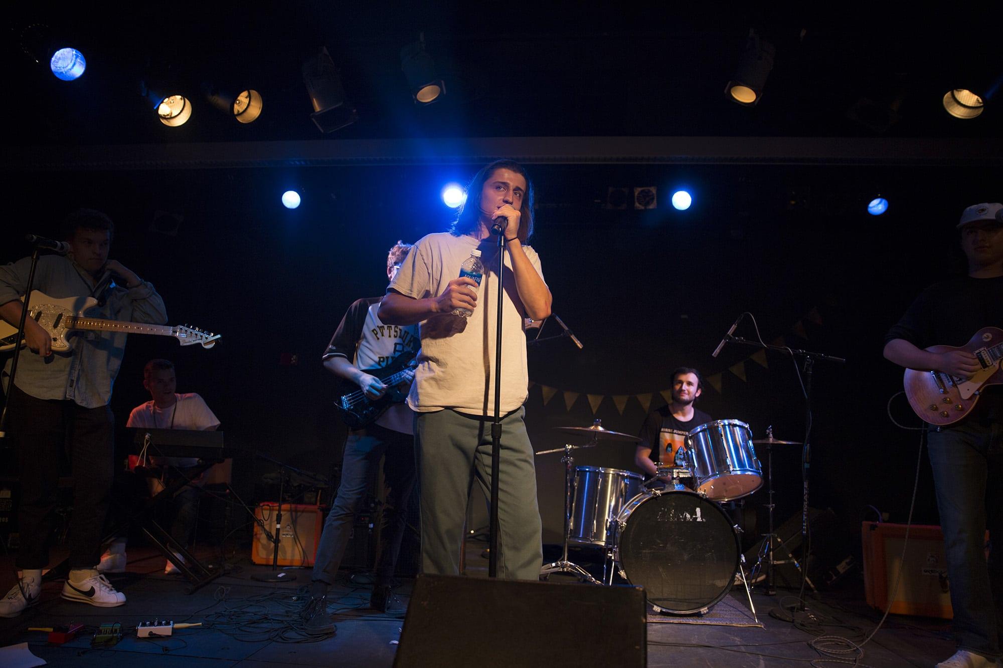 The Wisconaut Performing at Schine Underground, Syracuse University. 09/28/17