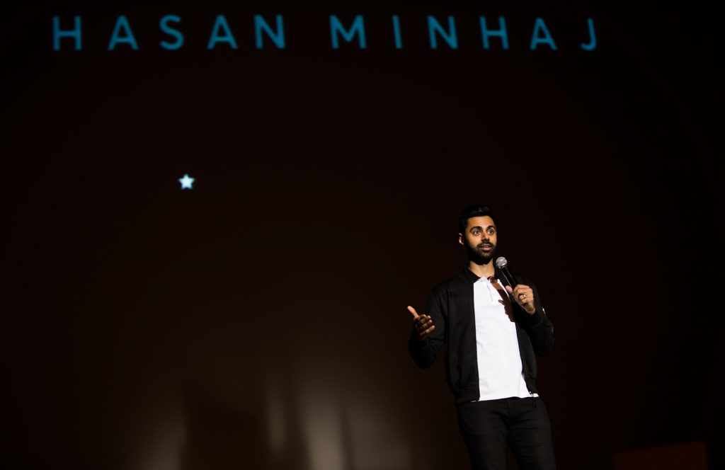 Hasan Minaj performs at Syracuse University