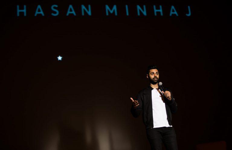 Hasan Minaj performs at Syracuse University