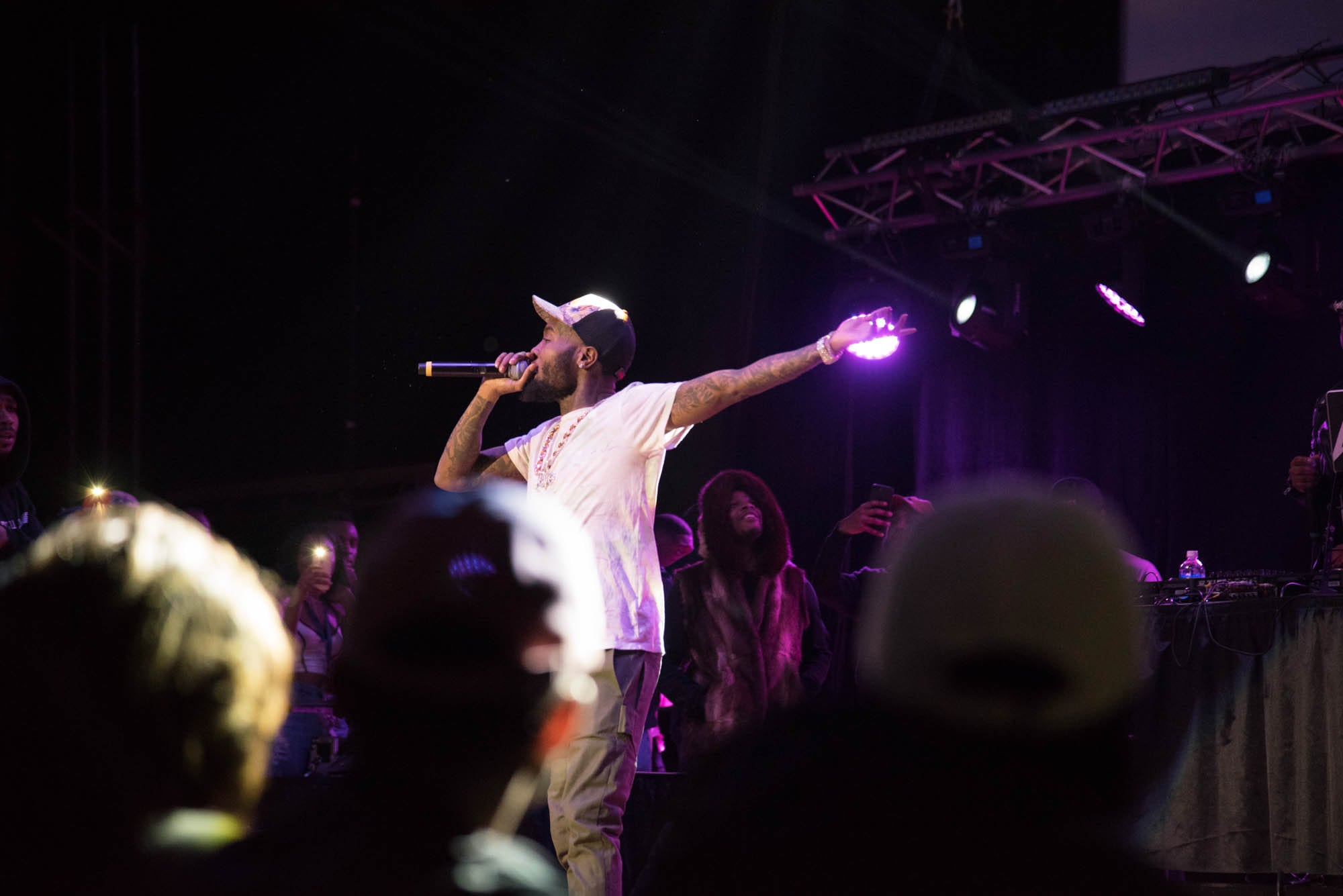 GoldLink performs at Syracuse University
