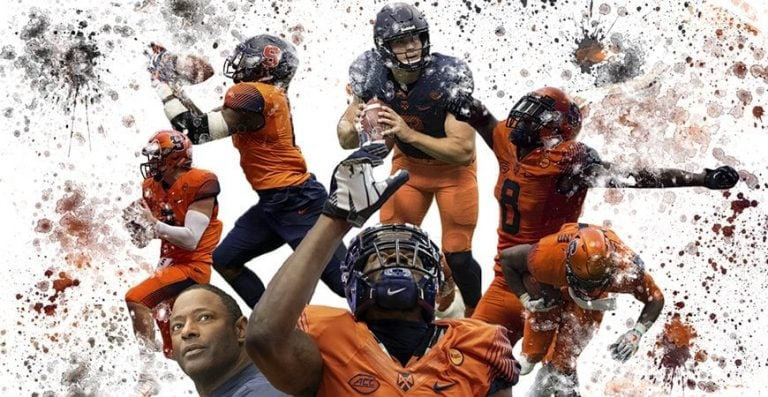 2017 Syracuse Orange Football Collage