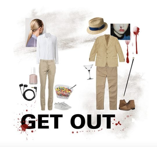 Costume idea inspired by Get Out