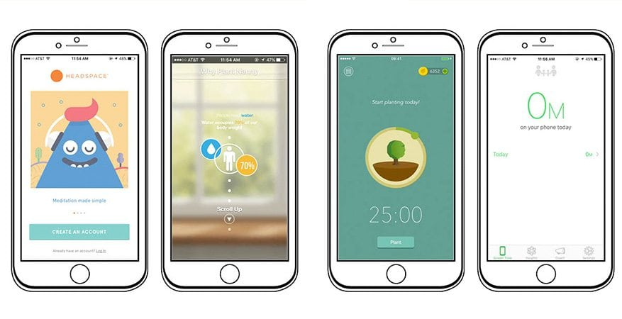 Four Healthy Apps