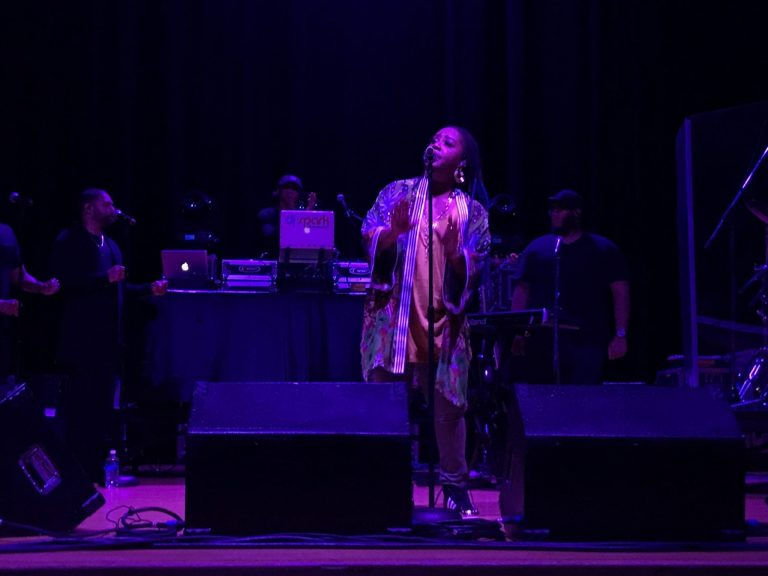 Lalah Hathaway performs at SU