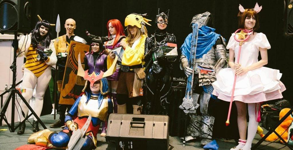 Cosplayers at RetroGameCon 5 in Syracuse