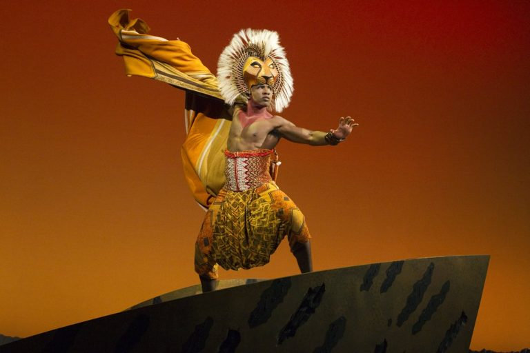 performance of The Lion King