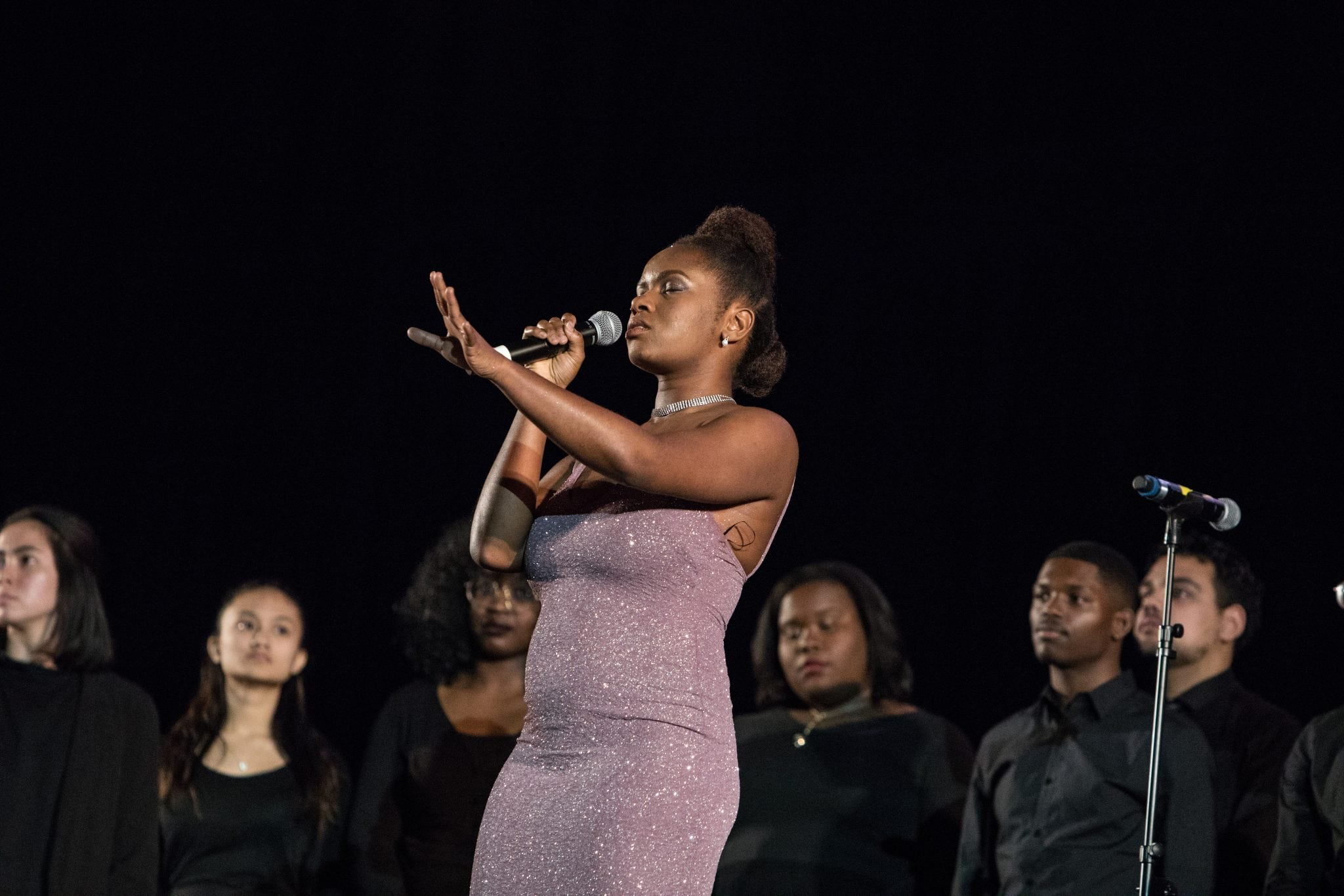 Performer at MLK Dinner at Syracuse University