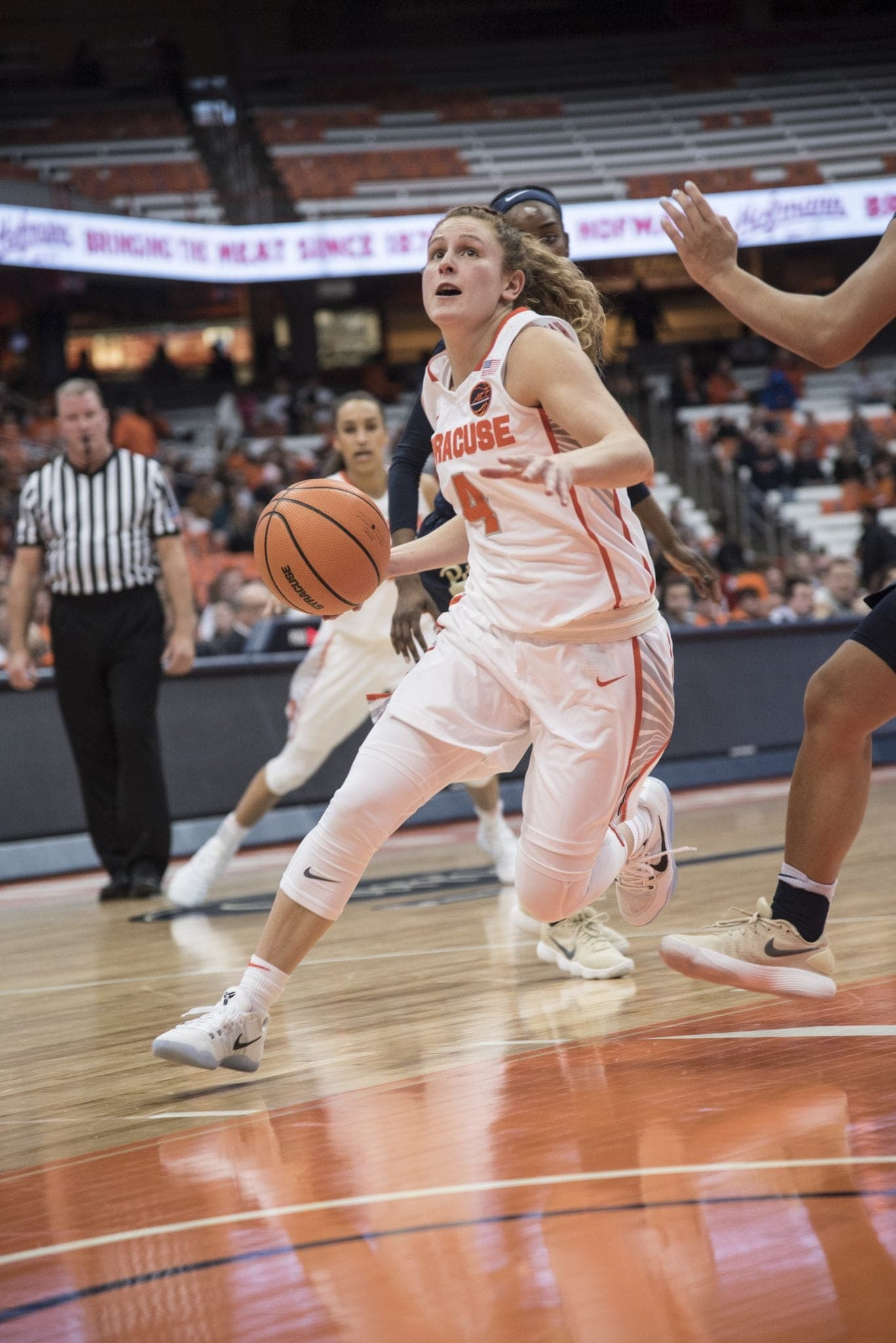 Women's basketball against Pitt