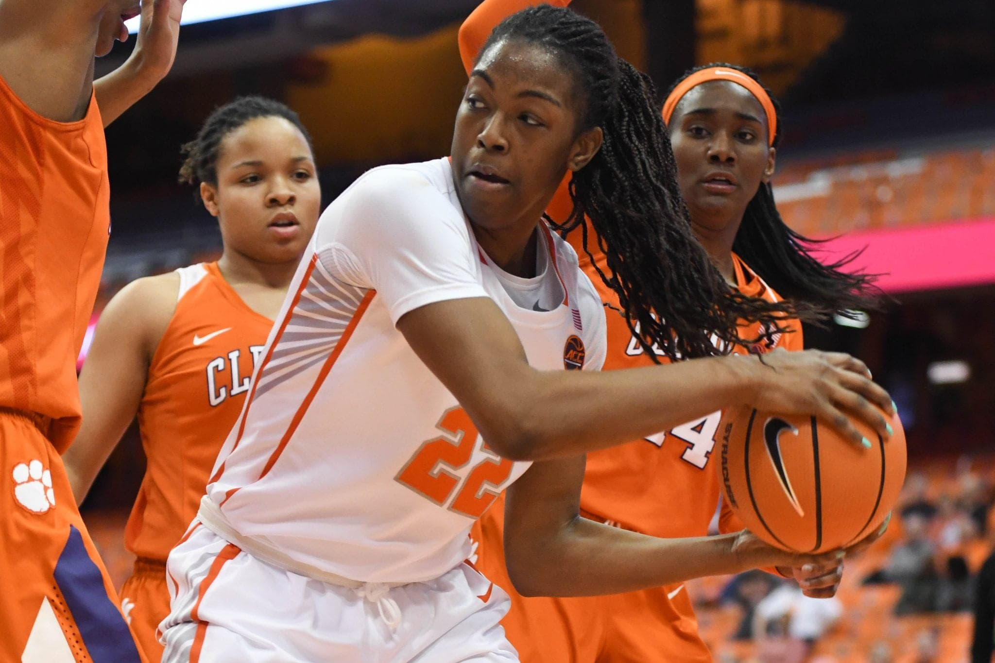 Women's basketball against Clemson