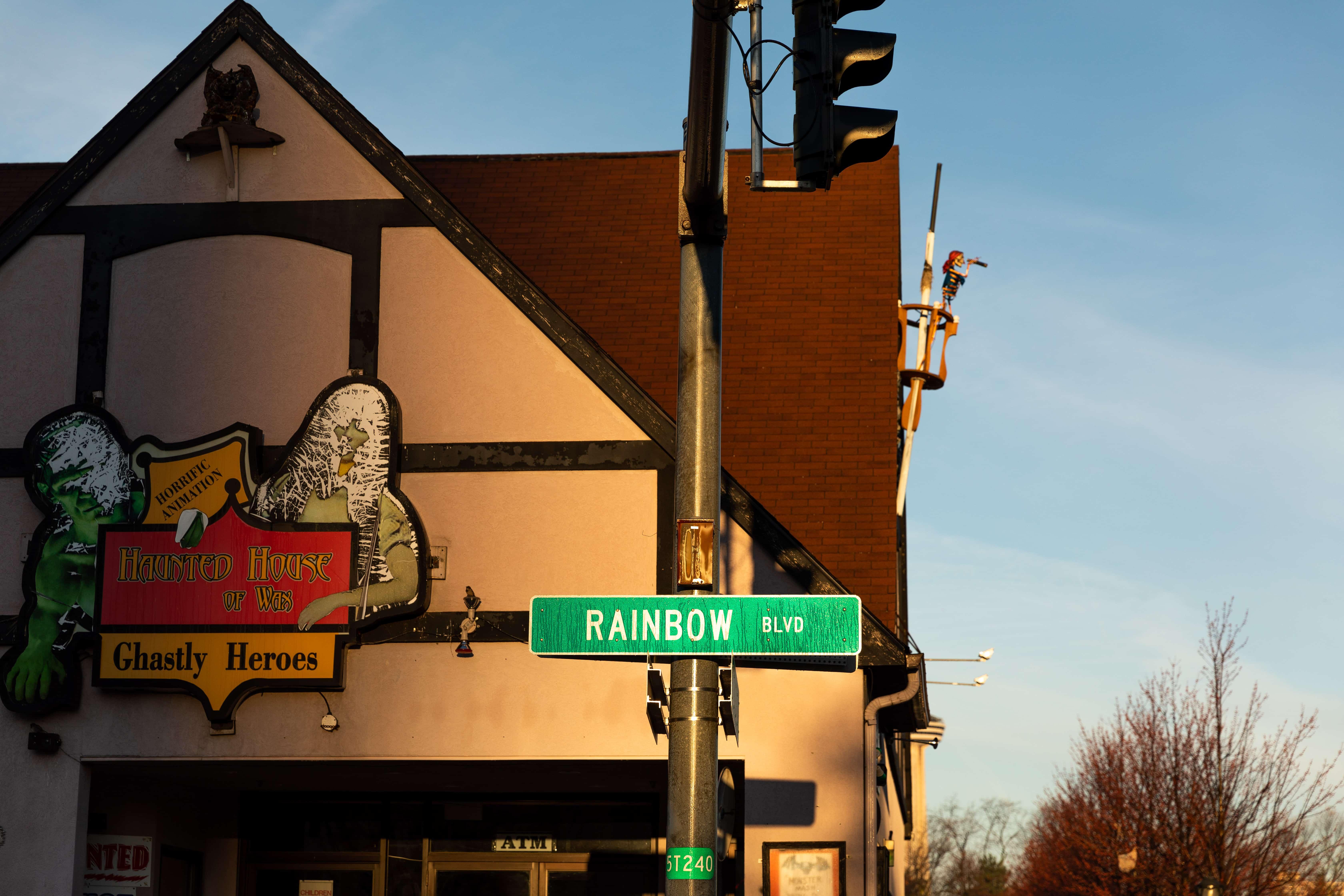 The Haunted House of Wax on Niagara Boulevard, Niagara Falls, NY