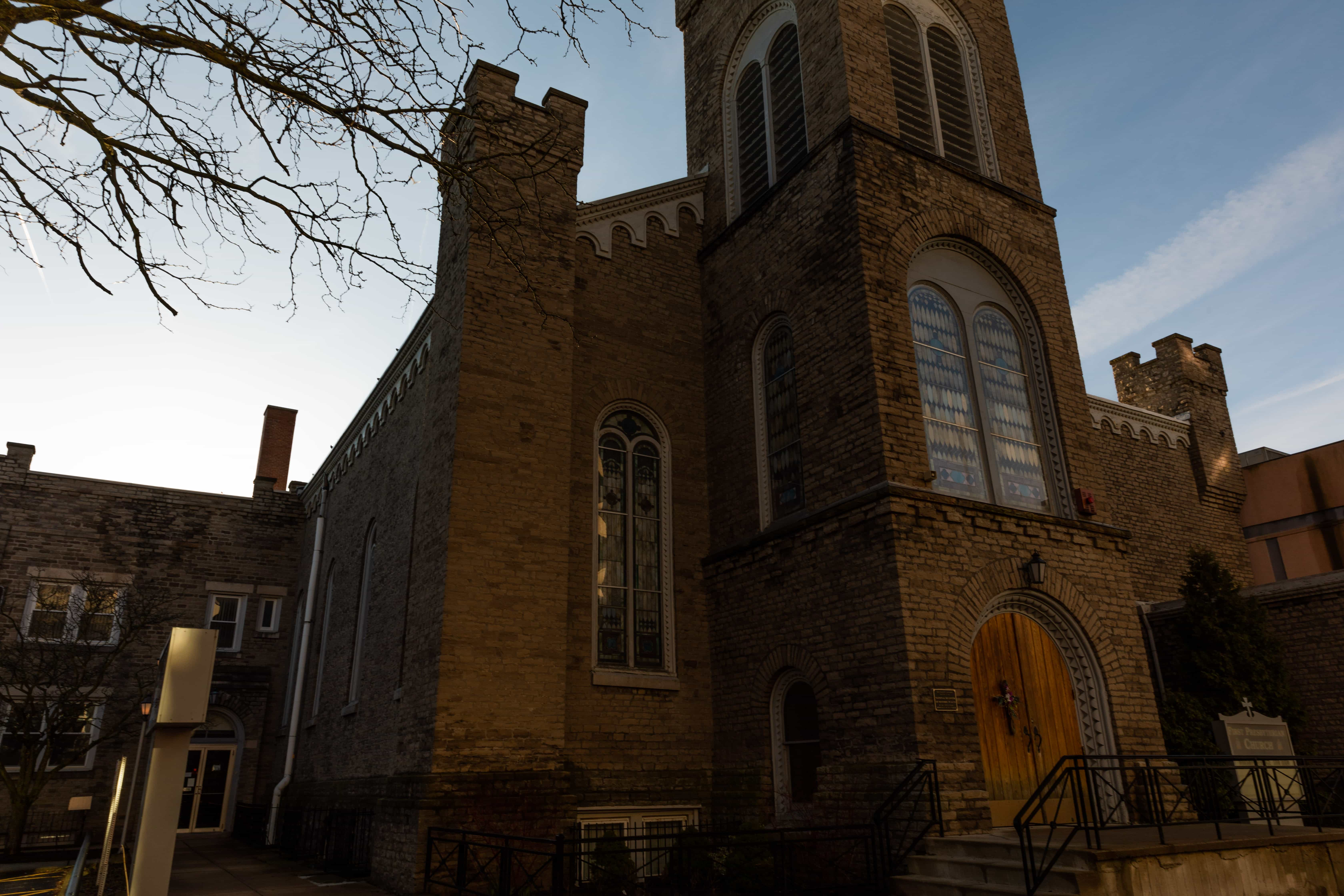 First Presbyterian Church is located on 1st Street in Niagara Falls NY.