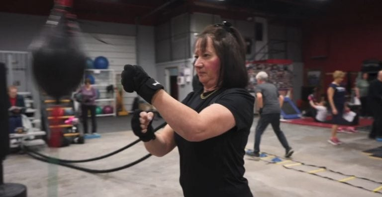 Rock Steady Boxing is a one-of-a-kind, nonprofit gym founded that provides a uniquely effective form of physical exercise to people who are living with Parkinson's. This non- contact, boxing-inspired fitness routine is proving to dramatically improve the ability of people with Parkinson's to live independent lives.