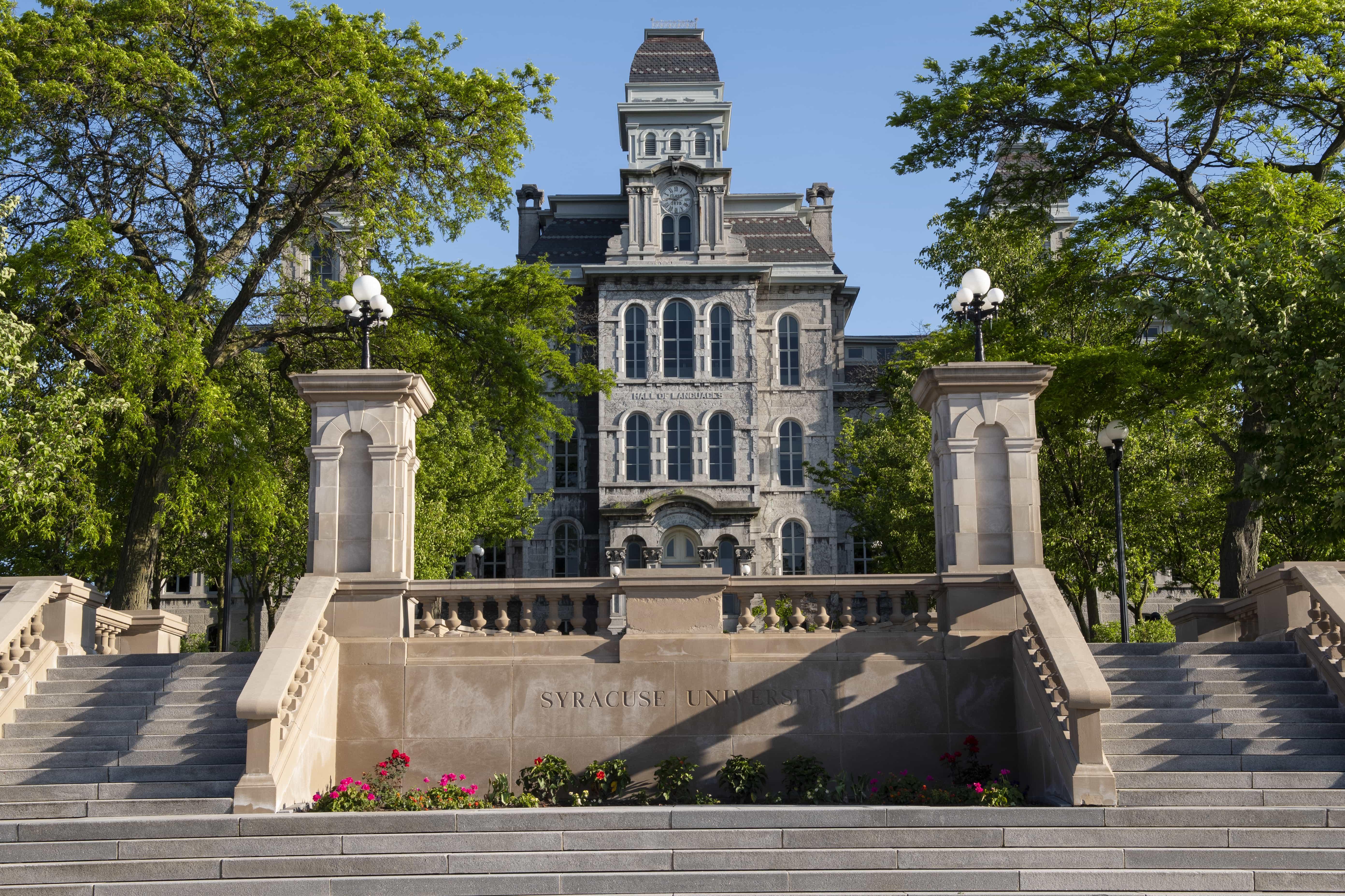 Syracuse University's Hall of Languages