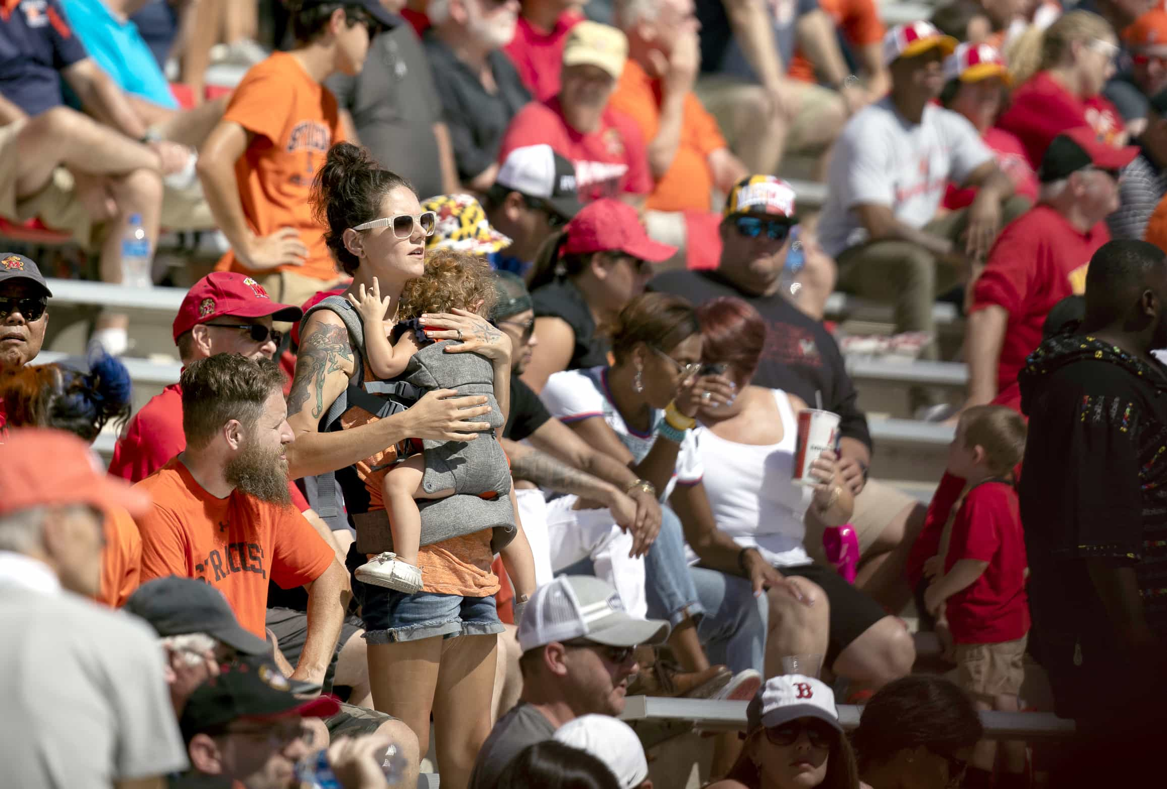 Syracuse fans had little to cheer for in the second half vs. Maryland