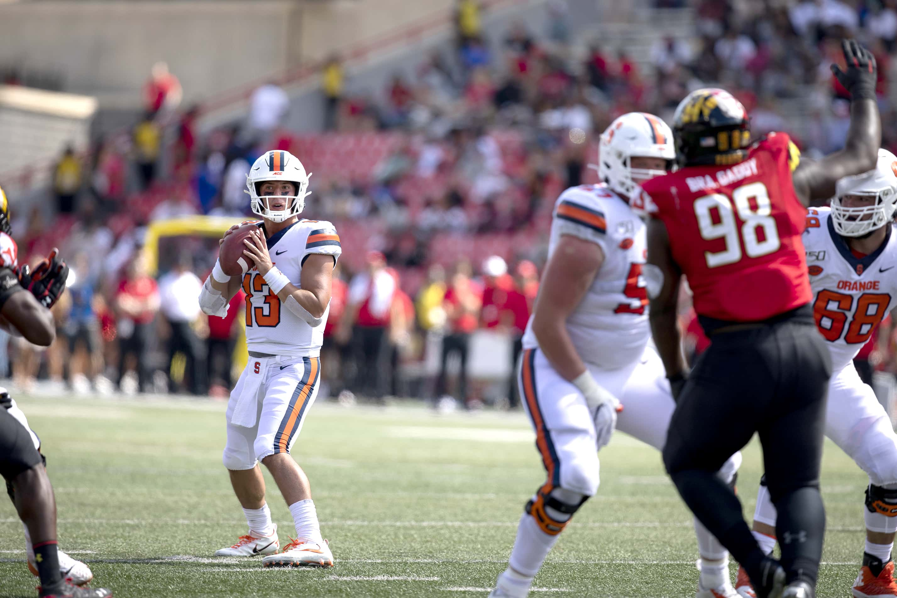 Tommy DeVito threw for 330 yards, 3 touchdowns and 1 interception vs. Maryland