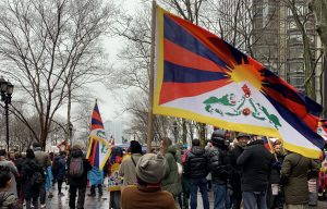 Tibetan-Americans Rally in New York City.