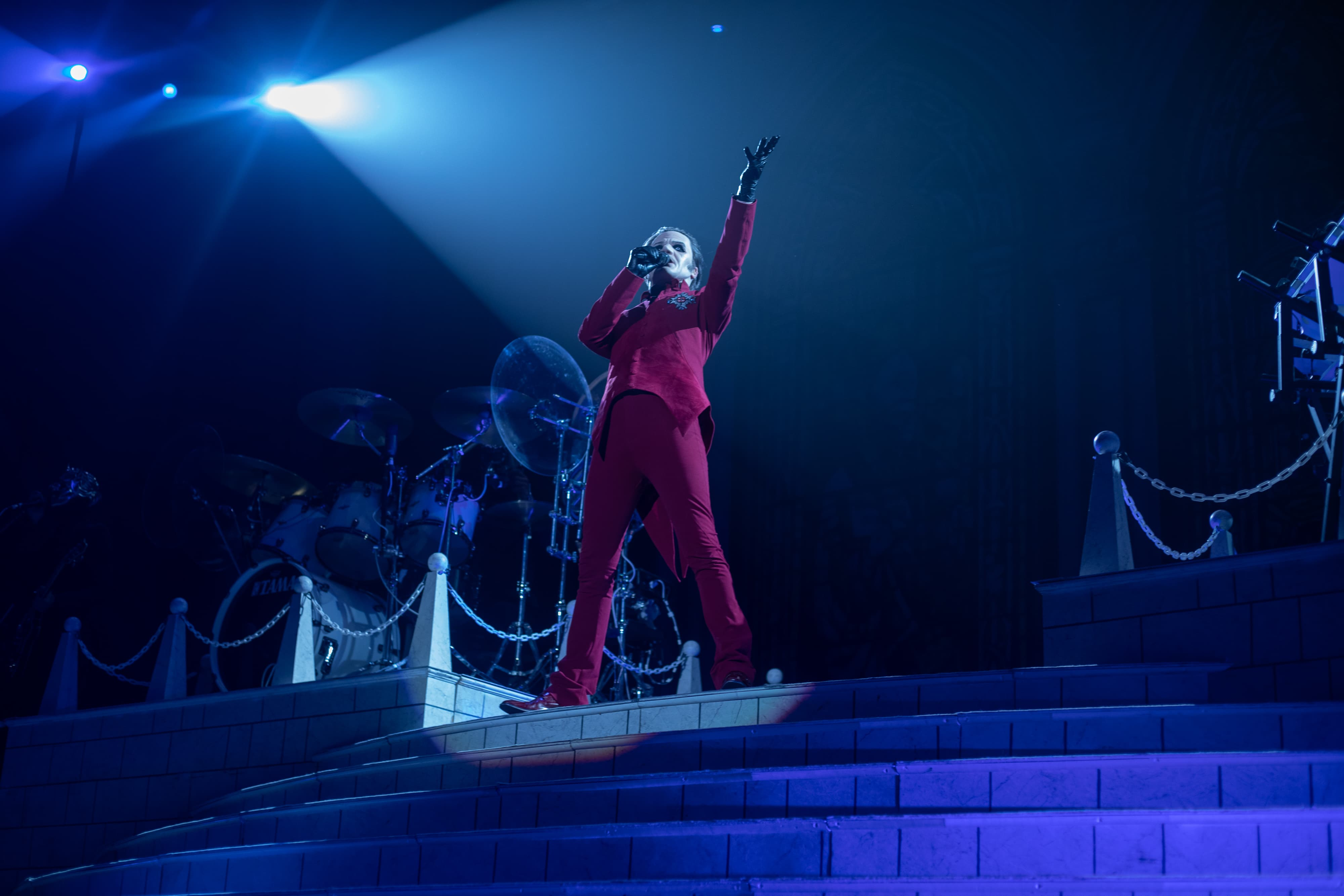 GHOST concert in Syracuse on Oct. 22, 2019 at War Memorial