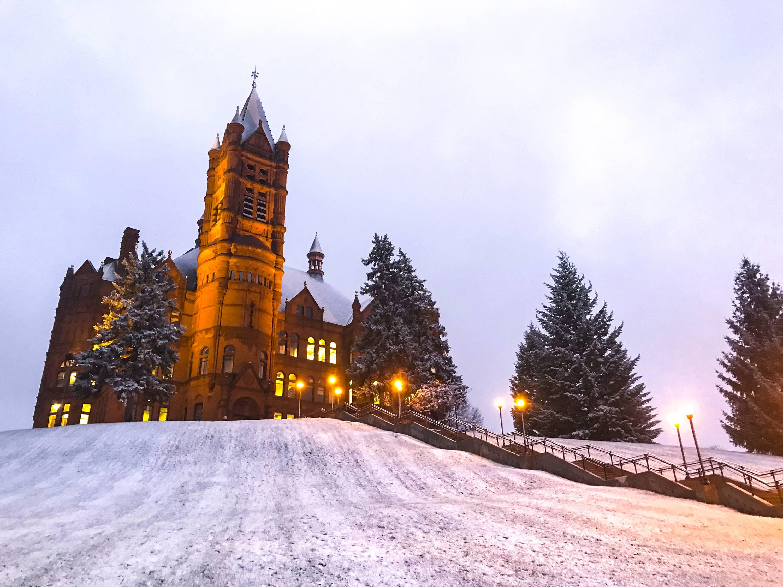 Syracuse First Snow