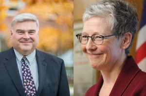 Onondaga County 12th District race between David Knapp and Jennifer Blusk