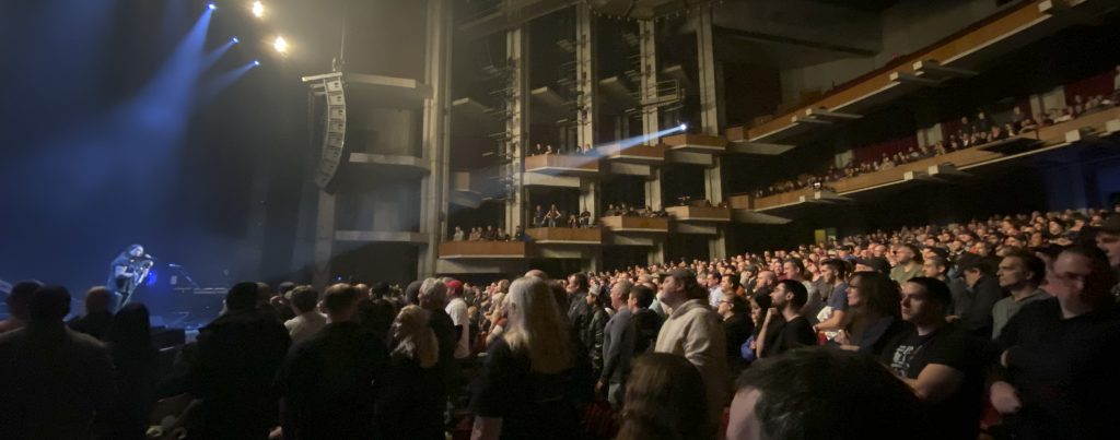 Although not a sold out crowd, a passionate one showed up for Dream Theater's Nov. 9, 2019 concert in Syracuse.