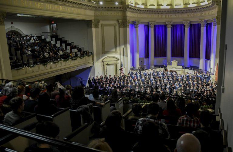 Holiday at Hendricks concert at Syracuse University on Dec. 8, 2019