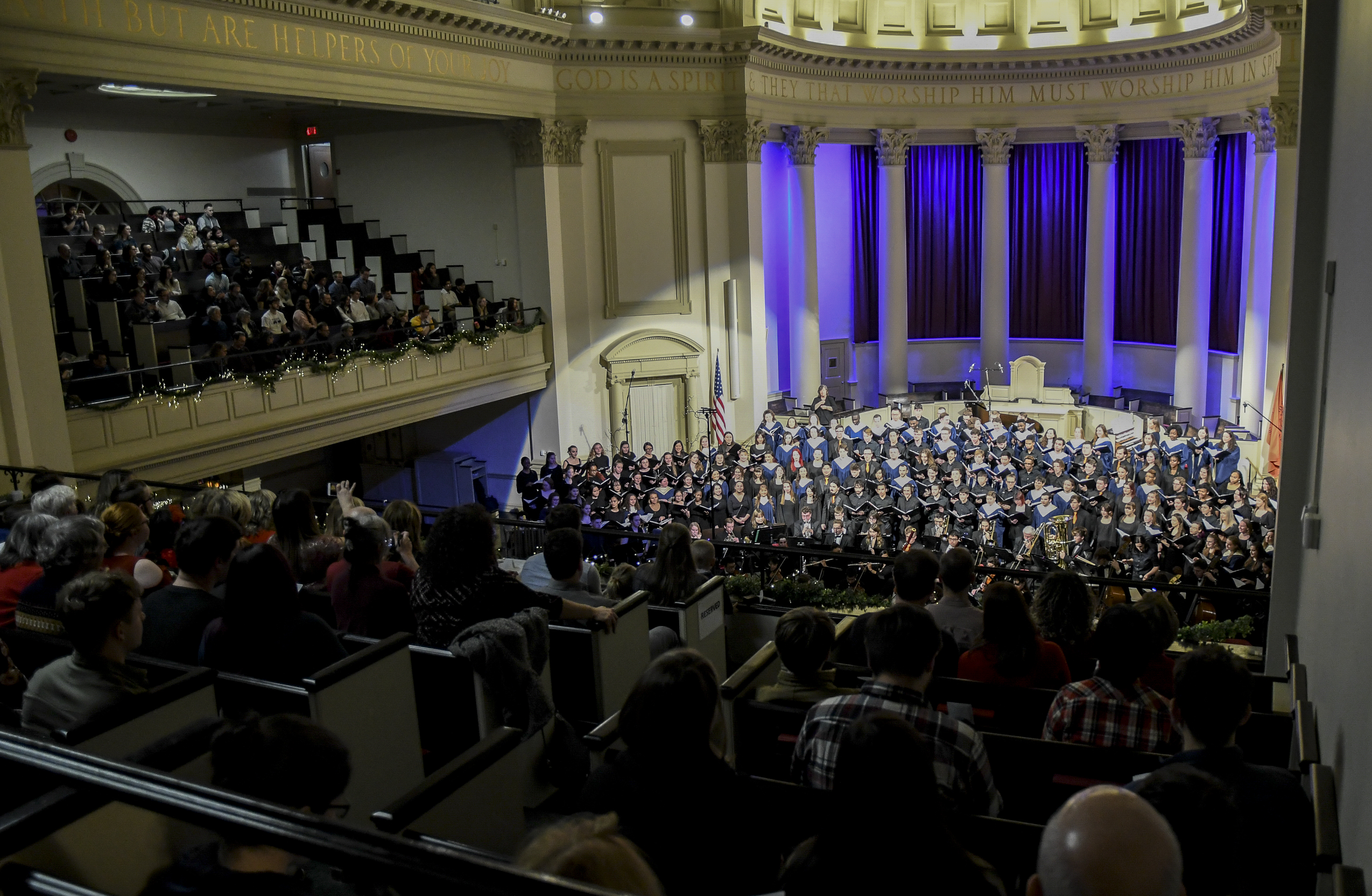 Holiday at Hendricks concert at Syracuse University on Dec. 8, 2019