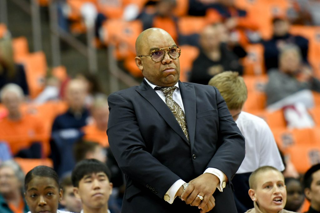 Syracuse head coach Quentin Hillman's team snapped a three-game losing streak Sunday -- its first since the 2013-14 season.