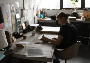 Chloe Crookall is a junior studio arts major.