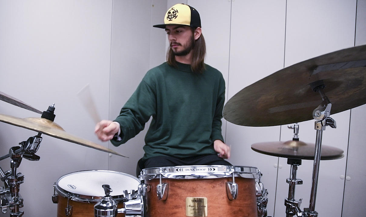 Exchange Student Drummer