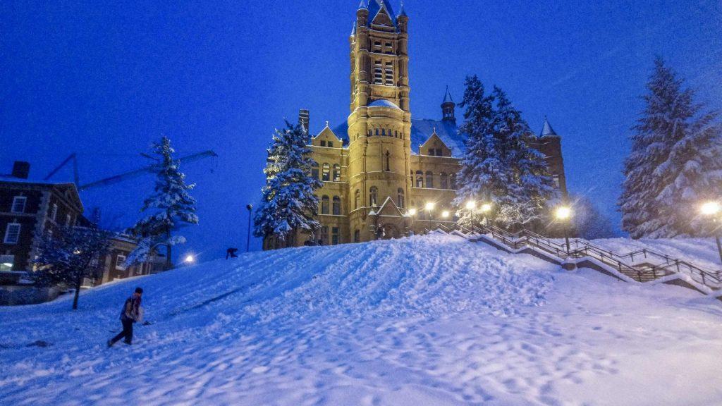 Snow Day - Dec. 2, 2019 - Crouse College