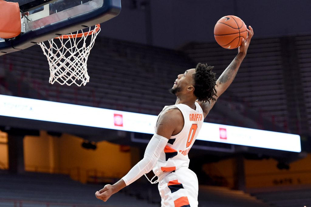 The Syracuse Orange takes on the Bulldogs Nov.27, 2020 at the Carrier Dome in Syracuse, New York.