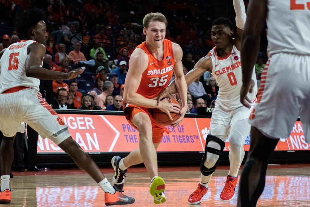 Syracuse's Buddy Boeheim vs. Clemson