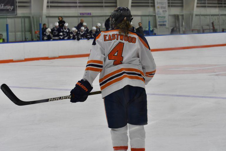 Syracuse Hockey Lindsay Eastwood during SU's Jan. 25 game vs Penn State.