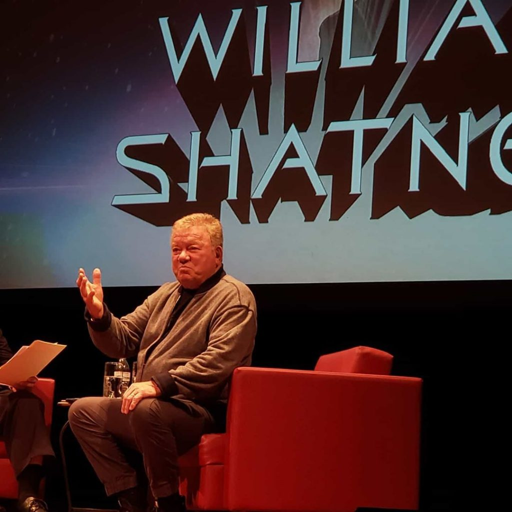 William Shatner live in Syracuse on Jan. 18 at the Oncenter for a screening of
