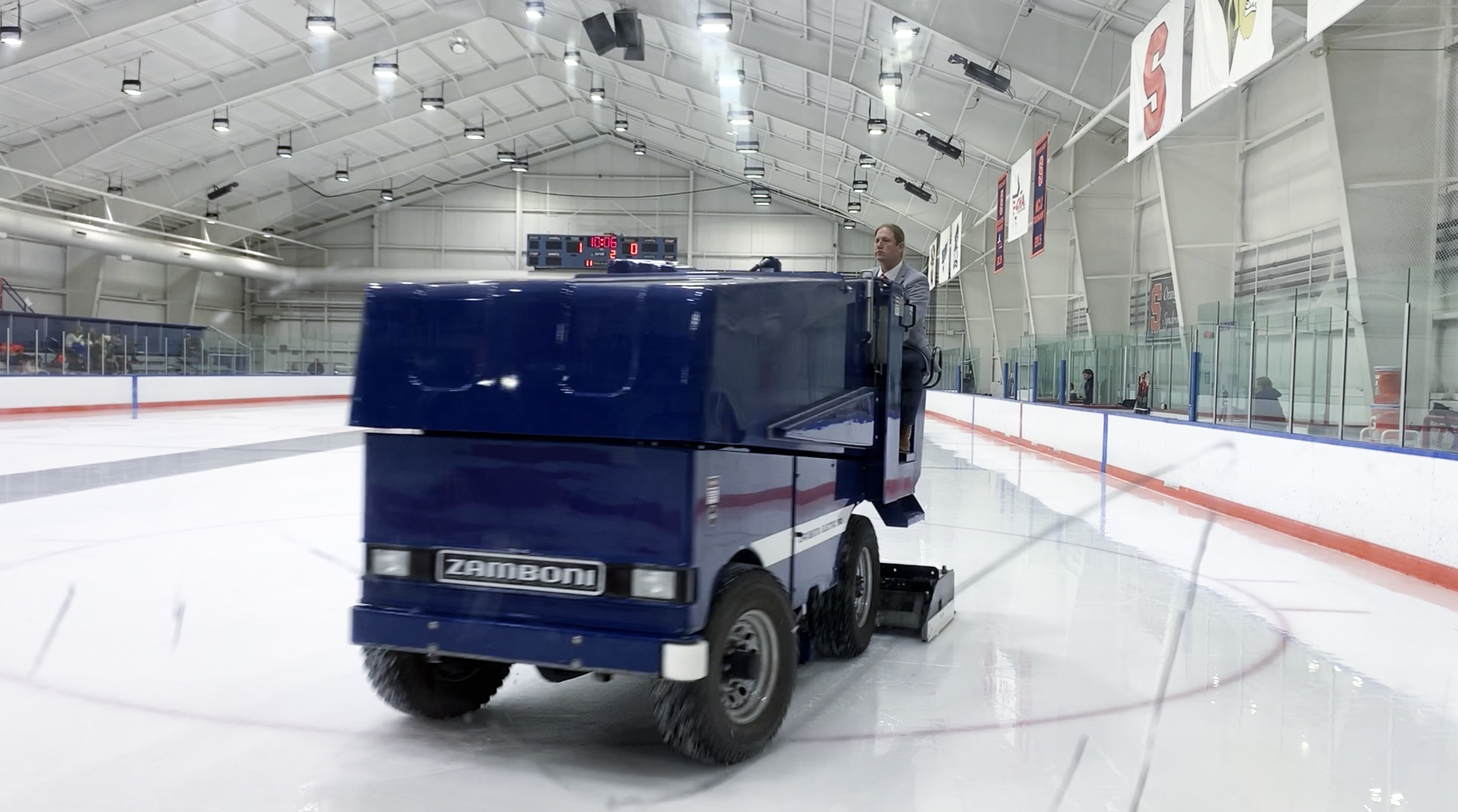Tennity Ice Pavillion Zamboni
