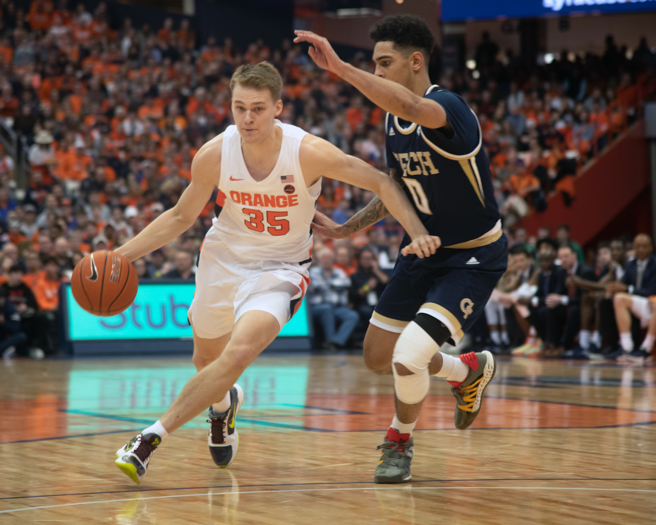 SU Orange Women's Basketball defeat Clemson Tigers