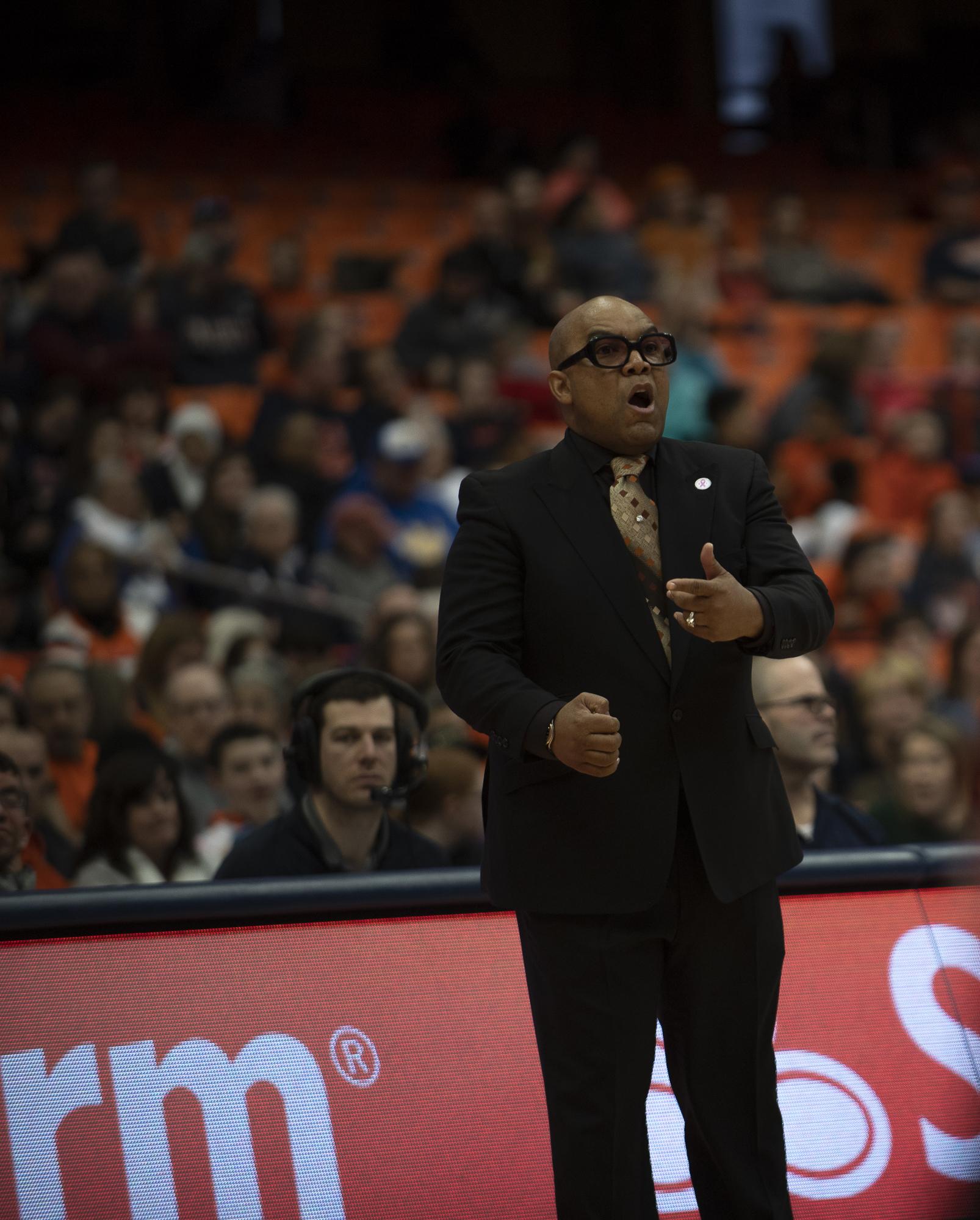 Syracuse Coach Quentin