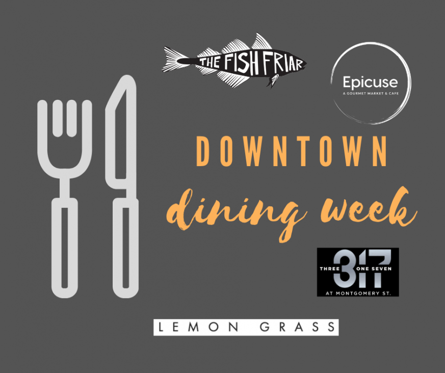Syracuse Downtown Dining Week graphic