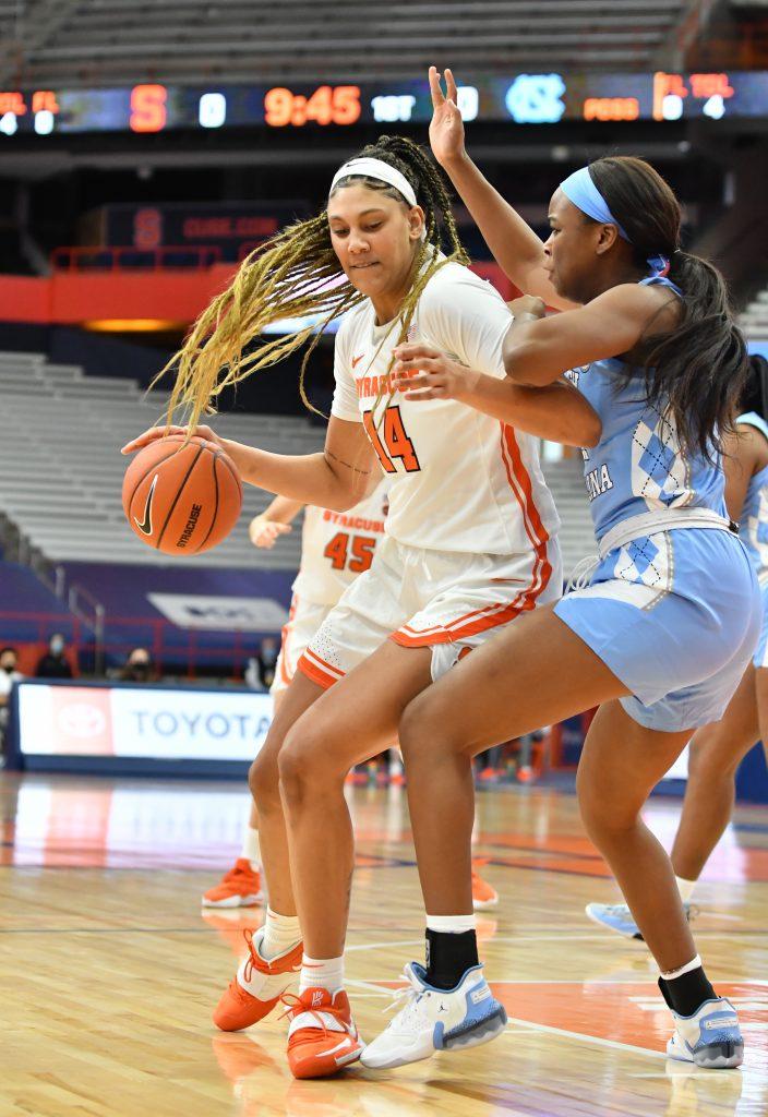 NCAA Womens Basketball: North Carolina at Syracuse