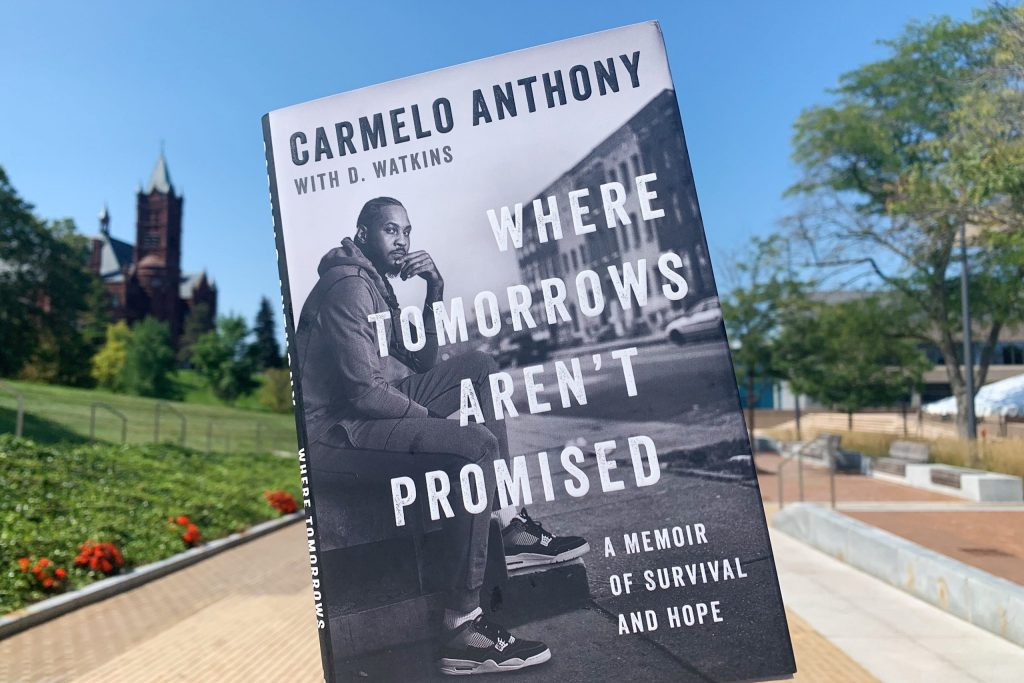Carmelo Anthony's book