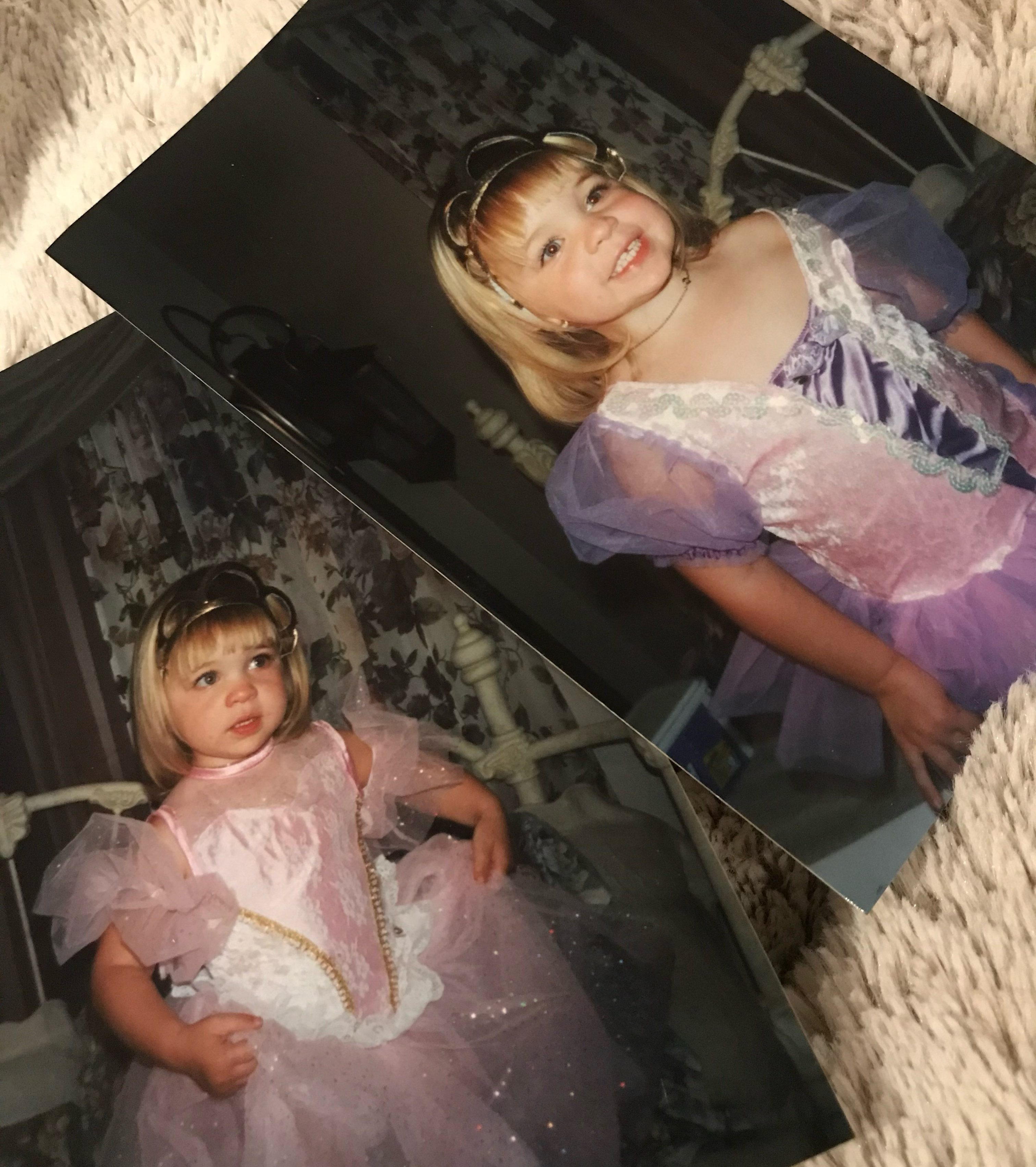 Photos of Maggie D'Amaro as a child