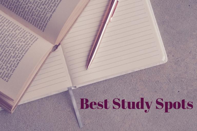 Best Study Spots illustration