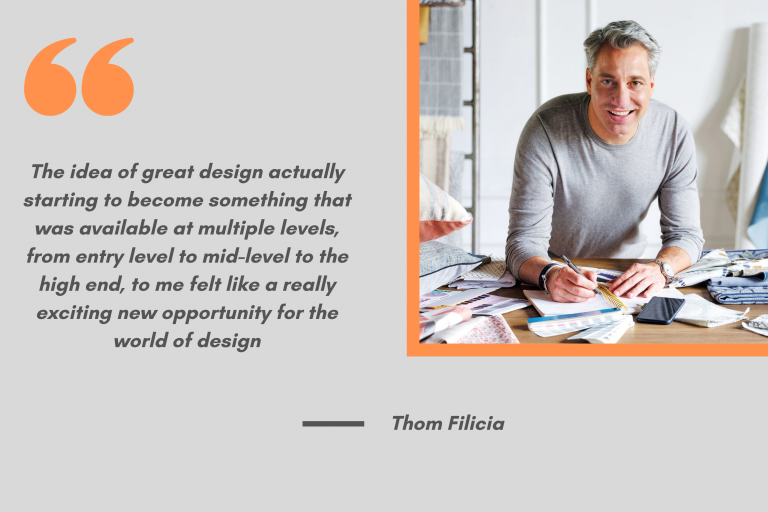 Thom Filicia Quote from Syracuse University on Oct. 27, 2020