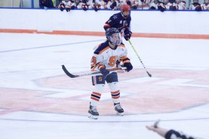 Hannah Johnson of Syracuse Women's Ice Hockey vs. Robert Morris