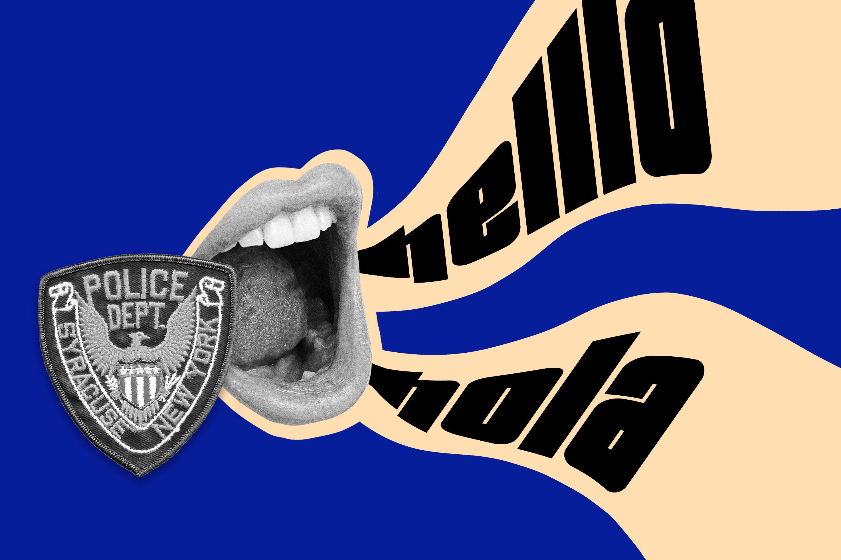 Illustration: Syracuse Police Bilingual